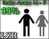 Scaler Avatar M - F 99%