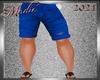 !b Kid-Men Short Blue V1