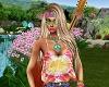Flower Power Hippie Top
