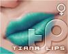 TP Tiana Lips - Teal
