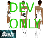 dev short dress w boot