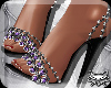 ! Gems Pumps PurpBlack