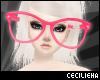 ! Huge Pink Glasses