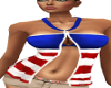 July 4th Summer Top