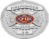 !S! Firefighter Badge
