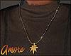 $ Gold Leaf Necklace
