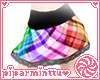 Rainbow Plaid Mini