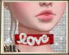 ML Love Red Chocker