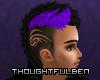 Dyed Tribal Hair Purple2