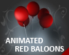 Animated Red Baloons