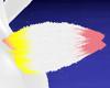 Tri-Color Bunny Tail
