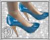 *D*Blue High Heels