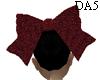 (A) Glitter Dark Red