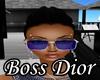 $BD$ Dior glasses blue