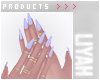 ت Lilac Nails