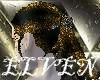 ELVEN Gold Glitter Lou