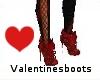 valentines boots