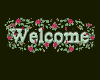 Rose Welcome sticker