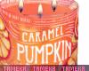 Caramel swirl candle