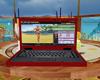 Candy Red IMVU Laptop