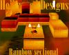 Rainbow Sectional