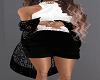 Black Glitter Shawl