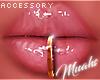 $ Gold Lip Ring
