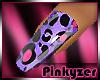 P! BRIGHT leopard purple