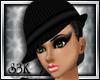 [S3K]Mafiosa Hat Black