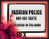 BFX E Fashion Police