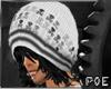 !P Black White Skull