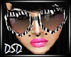 {DSD} Zebra Heart Shades