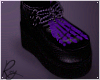 Purple Skelly Creepers