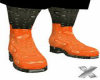 Funky Org/Blk Boots