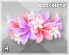 A| Flower Bracelets 4