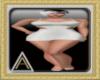 (AL)Joy Dress White SL