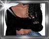 ! top glitter black.