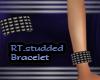(rt) studded braclet