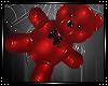 *A* Teddy PVC Hearts