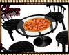 Super Bowl Pizza Table