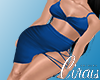C` Blue Freya Dress XL