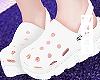 w. White  Crocs