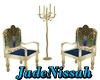J-Chairs Peacock/Candle