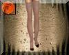 Burgundy heels & nylons