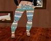 Leggings Blue tribal