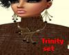 Trinity Jewelry Set Bwn