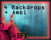 BFX BD Water Backdrops