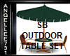 OUTDOOR TABLE SET SB