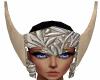Silver Aquarius Helmet