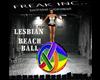 Lesbian Beach Ball